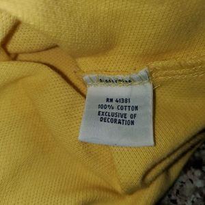 New Ralph Lauren Polo Shirt sz M fitted yellow 109
